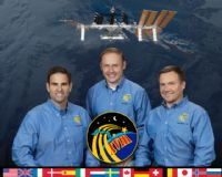 International Space Station Expedition 18 Official Crew Photograph #1